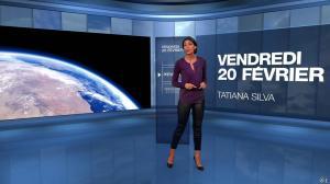 Tatiana Silva à la Météo de M6 - 20/02/15 - 03