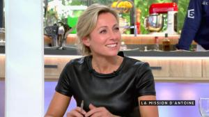 Anne-Sophie Lapix dans C à Vous - 24/06/16 - 08
