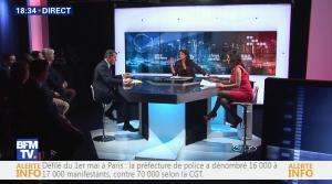 Apolline De Malherbe et Nathalie Schuck dans BFM Politique - 01/05/16 - 09