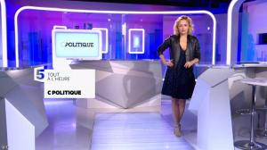 Caroline Roux dans Bande Annonce de C Politique - 29/05/16 - 02