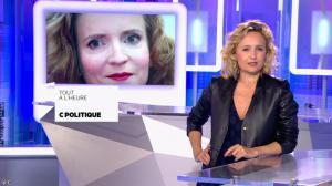 Caroline Roux dans Bande Annonce de C Politique - 29/05/16 - 05