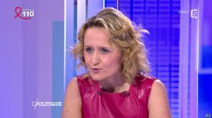 Caroline Roux dans C Politique - 03/04/16 - 12