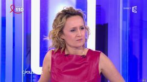Caroline Roux dans C Politique - 03/04/16 - 38