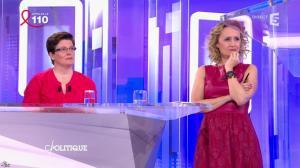 Caroline Roux dans C Politique - 03/04/16 - 60