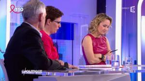 Caroline Roux dans C Politique - 03/04/16 - 62