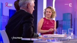 Caroline Roux dans C Politique - 03/04/16 - 64