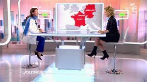 Caroline Roux dans C Politique - 04/10/15 - 32