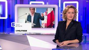 Caroline Roux dans C Politique - 07/02/16 - 03