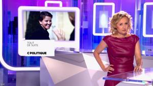 Caroline Roux dans C Politique - 08/05/16 - 03