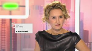 Caroline Roux dans C Politique - 11/10/15 - 011