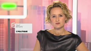 Caroline Roux dans C Politique - 11/10/15 - 012