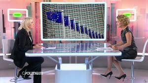 Caroline Roux dans C Politique - 11/10/15 - 031