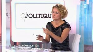 Caroline Roux dans C Politique - 11/10/15 - 039