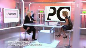 Caroline Roux dans C Politique - 11/10/15 - 040