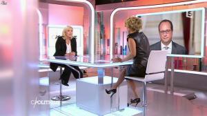 Caroline Roux dans C Politique - 11/10/15 - 050