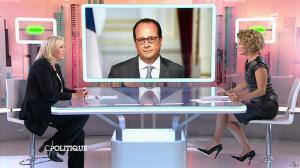 Caroline Roux dans C Politique - 11/10/15 - 051