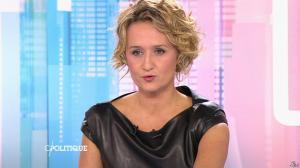 Caroline Roux dans C Politique - 11/10/15 - 052