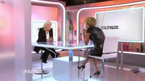 Caroline Roux dans C Politique - 11/10/15 - 074