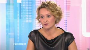 Caroline Roux dans C Politique - 11/10/15 - 078