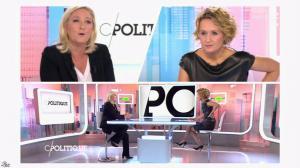 Caroline Roux dans C Politique - 11/10/15 - 082