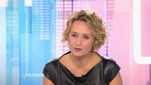 Caroline Roux dans C Politique - 11/10/15 - 128