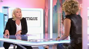 Caroline Roux dans C Politique - 11/10/15 - 138