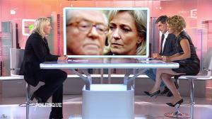 Caroline Roux dans C Politique - 11/10/15 - 149