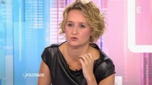 Caroline Roux dans C Politique - 11/10/15 - 151