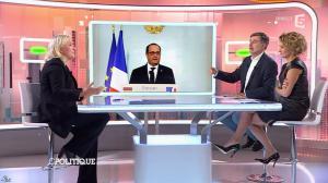 Caroline Roux dans C Politique - 11/10/15 - 169