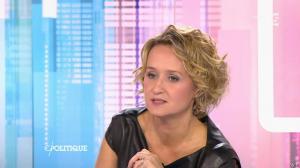 Caroline Roux dans C Politique - 11/10/15 - 188