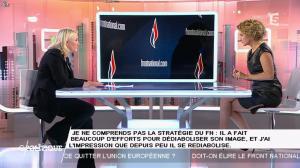 Caroline Roux dans C Politique - 11/10/15 - 197