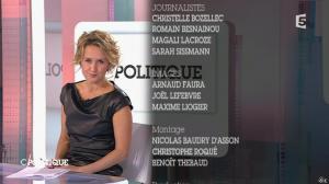 Caroline Roux dans C Politique - 11/10/15 - 198
