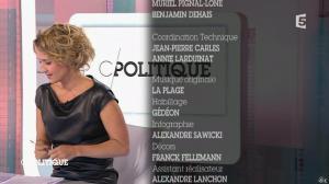 Caroline Roux dans C Politique - 11/10/15 - 200