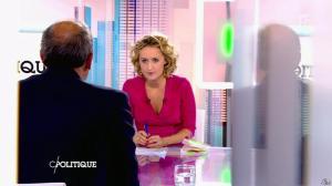 Caroline Roux dans C Politique - 18/10/15 - 05