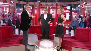 Caroline Roux dans Vivement Dimanche - 06/03/16 - 08