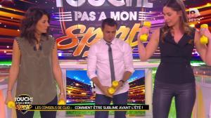 Clio Pajczer et Estelle Denis dans Touche pas à mon Sport - 29/04/16 - 01