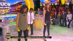 Clio Pajczer et Estelle Denis dans Touche pas à mon Sport - 29/04/16 - 02
