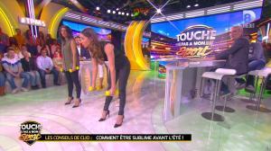 Clio Pajczer et Estelle Denis dans Touche pas à mon Sport - 29/04/16 - 03