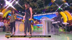 Clio Pajczer et Estelle Denis dans Touche pas à mon Sport - 29/04/16 - 04