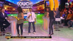 Clio Pajczer et Estelle Denis dans Touche pas à mon Sport - 29/04/16 - 05
