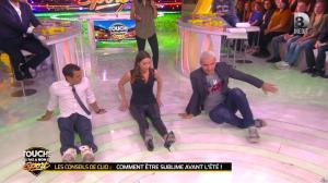 Clio Pajczer et Estelle Denis dans Touche pas à mon Sport - 29/04/16 - 07