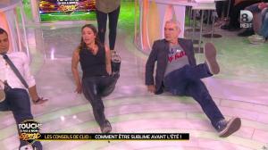 Clio Pajczer et Estelle Denis dans Touche pas à mon Sport - 29/04/16 - 08