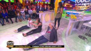 Clio Pajczer et Estelle Denis dans Touche pas à mon Sport - 29/04/16 - 11