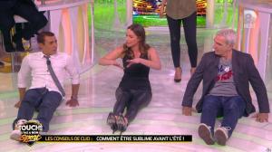 Clio Pajczer et Estelle Denis dans Touche pas à mon Sport - 29/04/16 - 12