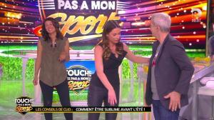 Clio Pajczer et Estelle Denis dans Touche pas à mon Sport - 29/04/16 - 13