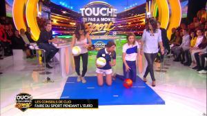 Estelle Denis et Ariane Brodier dans Touche pas à mon Sport - 02/03/16 - 02