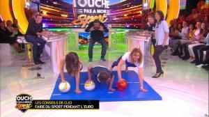 Estelle Denis et Ariane Brodier dans Touche pas à mon Sport - 02/03/16 - 04