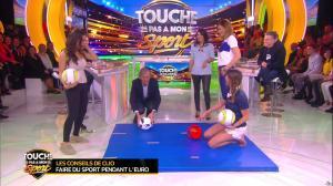 Estelle Denis et Ariane Brodier dans Touche pas à mon Sport - 02/03/16 - 05