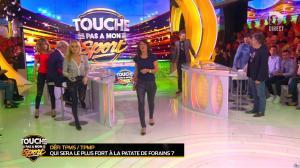 Estelle Denis et Cécile De Menibus dans Touche pas à mon Sport - 12/04/16 - 01