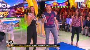 Estelle Denis et Clio Pajczer dans Touche pas à mon Sport - 08/04/16 - 01